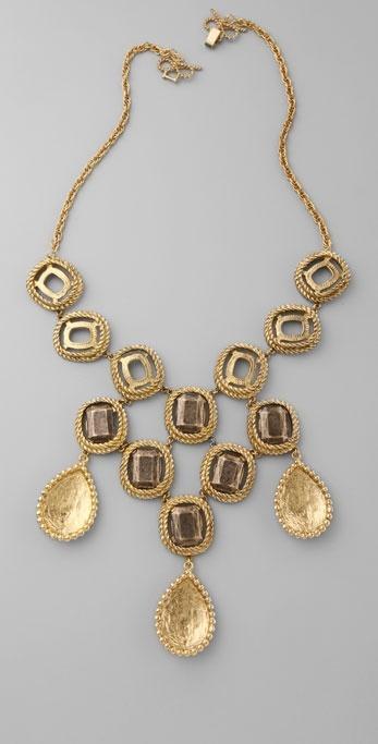 Rachel Leigh Cleo Teardrop Collar Necklace