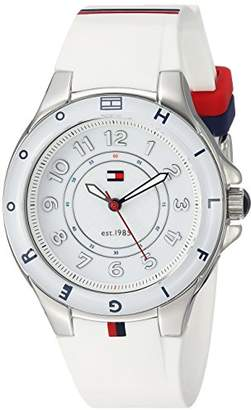 Tommy Hilfiger Women's 1781271 Stainless Steel Watch with Silicone Band