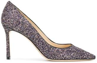 Jimmy Choo glitter Romy 85 pumps