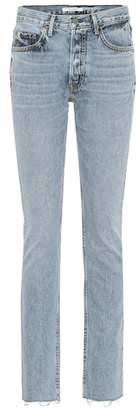 GRLFRND Addison high-rise bootcut jeans