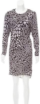 Thomas Wylde Structured Silk Dress