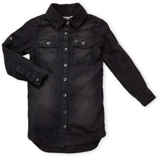 Calvin Klein Jeans Toddler Girls) Tie Waist Shirt Dress