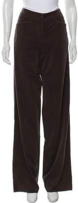 Giorgio Armani Vintage High-Rise Corduroy Pants w/ Tags Brown Vintage High-Rise Corduroy Pants w/ Tags