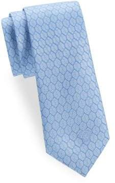 Versace Silk Honeycomb Tie