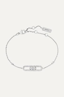 Möve Messika - Baby 18-karat White Gold Diamond Bracelet