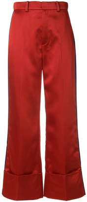 Tommy Hilfiger cropped high-waisted trousers