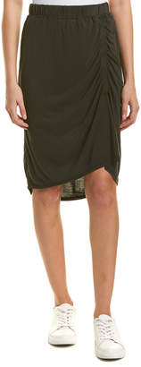 Splendid Ruched Pencil Skirt