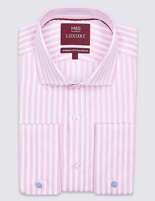 Marks and Spencer Pure Cotton Regular Fit Shirt