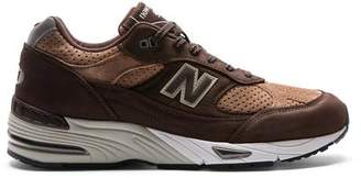 New Balance 991 Made in U.K. in Brown