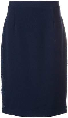Blumarine midi pencil skirt