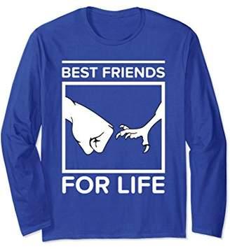 Bird Best Friends For Life Funny Cute Long Sleeve T-shirt