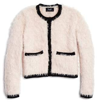 Bardot Junior Girls' Furry Cardigan - Little Kid