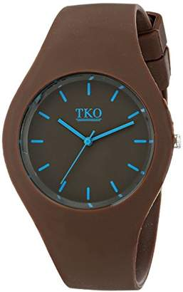 TKO Unisex Sports Rubber Band Fun Ice Watch TK643BR
