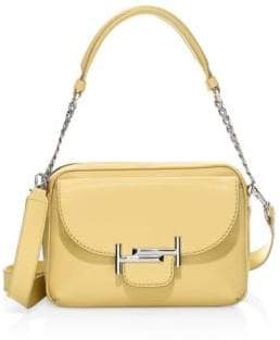 Tod's Double T Leather Camera Bag