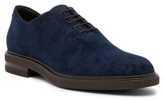 Donald J Pliner Eduardo Distressed Velvet Oxford