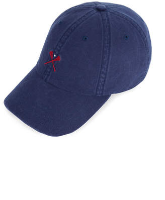 Vineyard Vines Lax Embroidered Classic Twill Baseball Hat d9d6dc1eb658