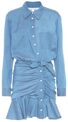 Veronica Beard Valle chambray dress