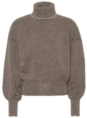 See by Chloe Wool turtleneck sweater