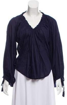 Antik Batik Bowly Long Sleeve Blouse w/ Tags