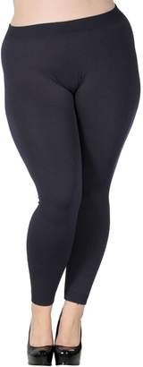 Simplicity Women Winter Soft Warm Stretchy Leggings