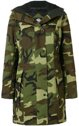 Canada Goose Kinley camouflage parka