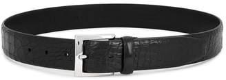 Andersons Anderson's Black Crocodile Belt