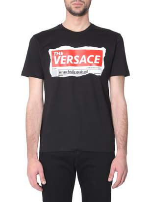 Versace slim fit t-shirt