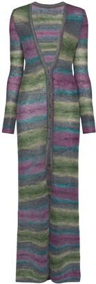 Jacquemus striped long cardigan