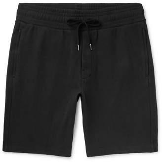 Frescobol Carioca Loopback Cotton-Blend Jersey Drawstring Shorts