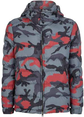 Camouflage Puffer Jacket
