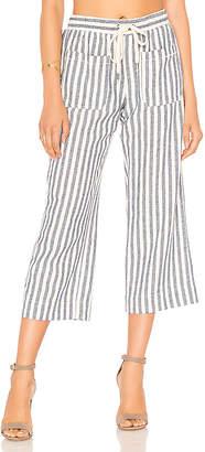 Splendid Linen Blend Stripe Pant
