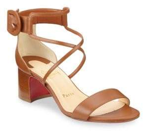 Christian Louboutin Choca Patent Leather Sandals
