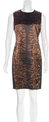 Reed Krakoff Printed Knee-Length Dress