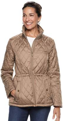 London Fog Tower By Women's TOWER by Quilted Midweight Jacket