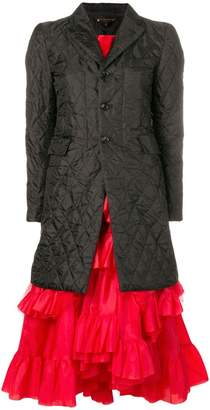 Comme des Garcons coat-style midi dress