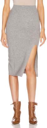 IRO Dorset Skirt in Mixed Grey | FWRD