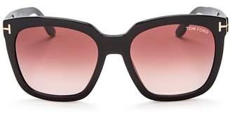 Tom Ford Women's Oversized Square Sunglasses, 55mm