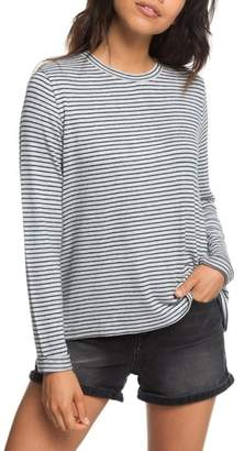Roxy Chasing You Stripe Knit Top