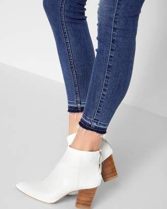 7 For All Mankind B(air) Denim High Waist Ankle Skinny with Released Hem in Sunset