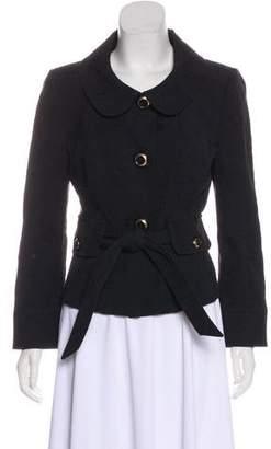 Dolce & Gabbana Jacquard Button-Up Jacket