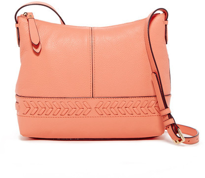 Cole Haan  Cole Haan Lacey Leather Crossbody