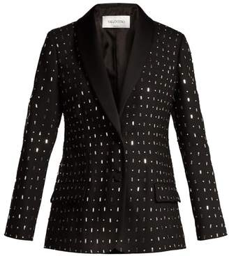 Valentino Micabo Tuxedo Jacket - Womens - Black Multi