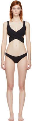 Lisa Marie Fernandez Black Marie-Louise Bikini