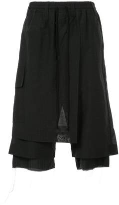 Song For The Mute slouched cropped trousers
