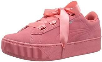 Puma Women's Vikky Platform Ribbon S Sneaker