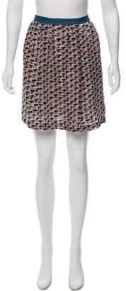 Marc by Marc Jacobs Velvet Mini Skirt