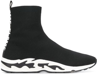 Sandro Paris Flame sock sneakers