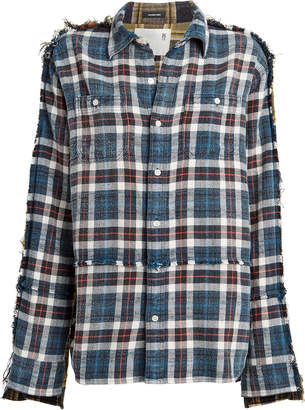 R 13 Mend Patchwork Flannel
