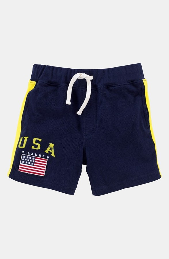 Polo Ralph Lauren Shorts (Toddler) French Navy 2T