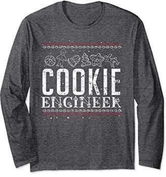 Cookie Engineer Ugly Christmas Jumper Long Sleeve Shirt